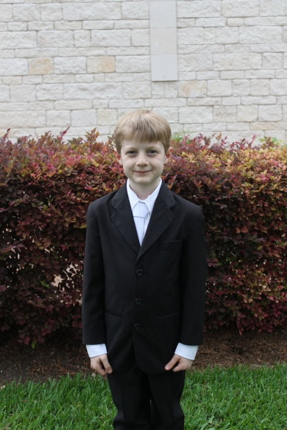 The First Communicant!!